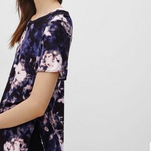 Aritzia Wilfred Floral T-Shirt Top